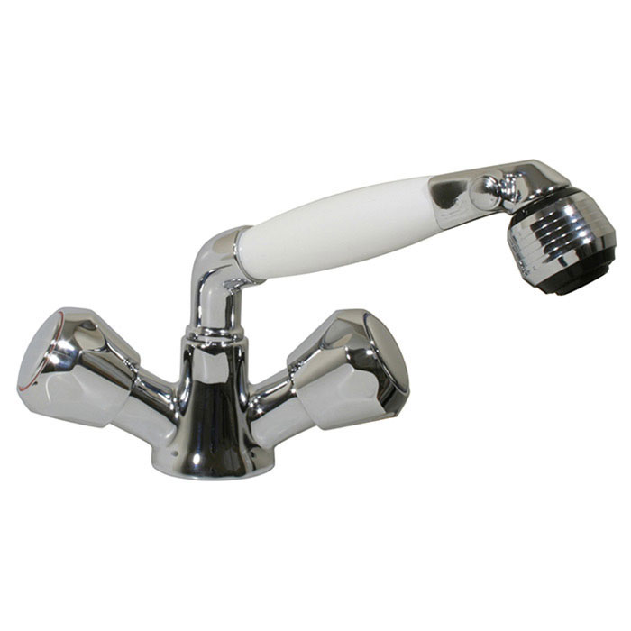 Scandvik Combination Faucet / Shower with Adjustable Aerator