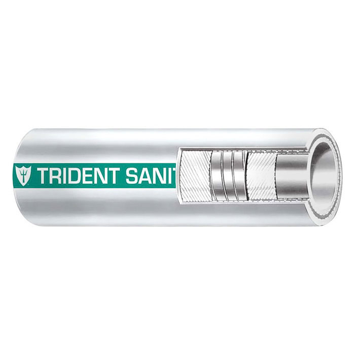 Trident Sani Shield Sanitation Hose - 1 Inch