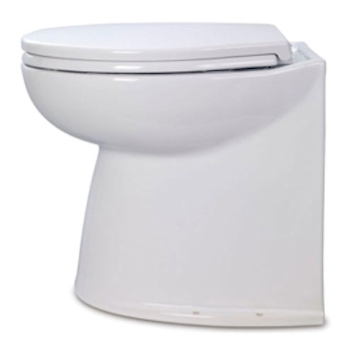 Jabsco Deluxe Flush Electric Toilet - Raw Water