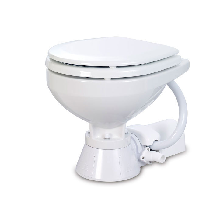 Jabsco Electric Toilet - Compact Bowl, Standard Height