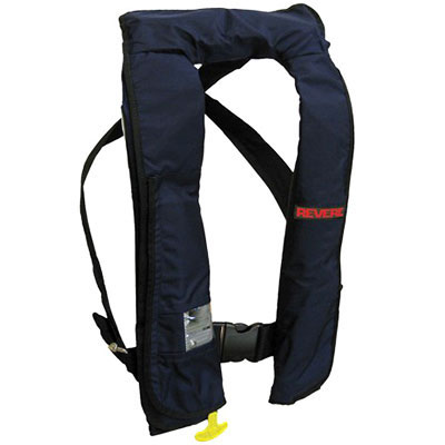 Revere ComfortMax Inflatable PFD / Life Jacket - Navy Blue