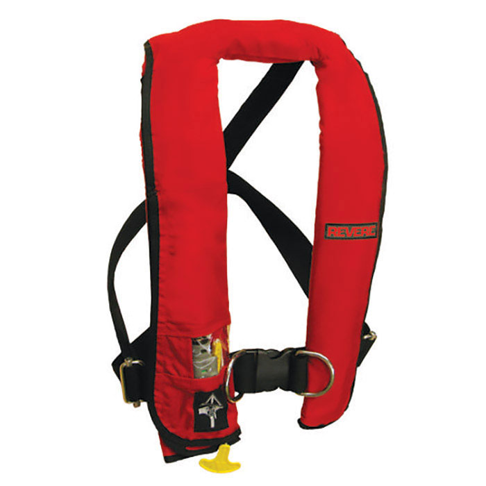 Revere ComfortMax Inflatable PFD / Life Jacket with Harness - Automatic