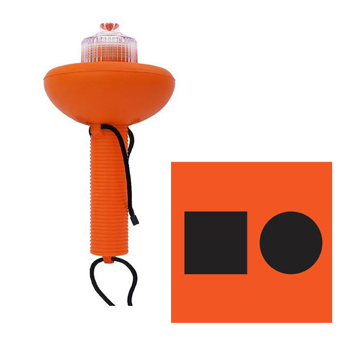 Weems & Plath SOS Distress Light with Distress Flag