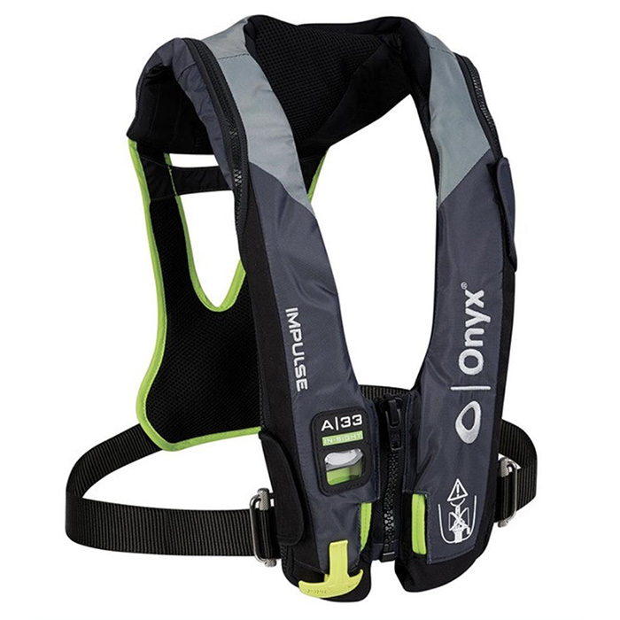 Onyx Impulse A-33 In-Sight Automatic Inflatable Life Jacket - Soft Harness  | Defender MarineDefender Marine