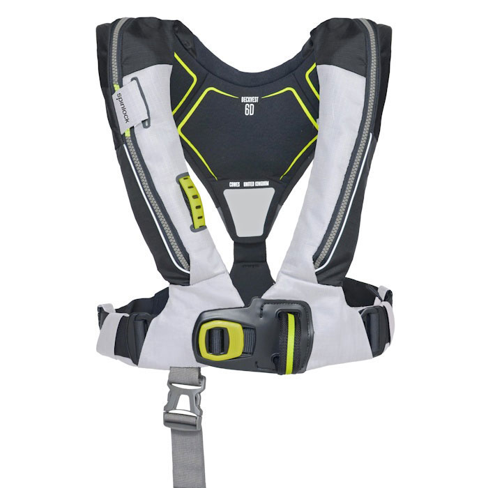 Spinlock Deckvest 6D 170N PFD with HRS System - Tropic White