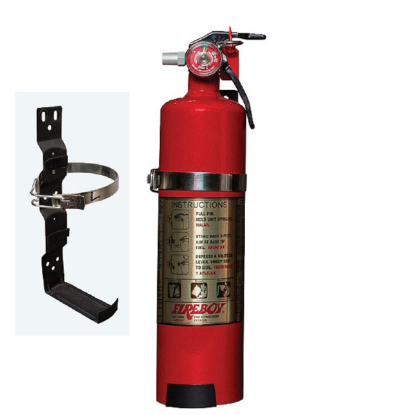 FIREBOY PORT. EXTINGUISHER 2.5