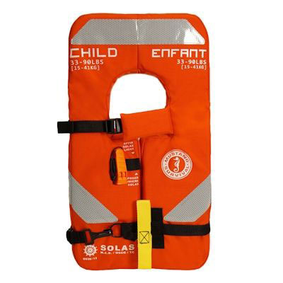 Mustang 4-One Child Solas Life Jacket / PFD