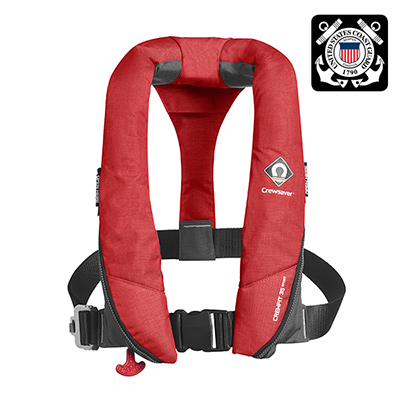 Crewsaver Crewfit 35 Sport USCG Inflatable PFD / Life Jacket