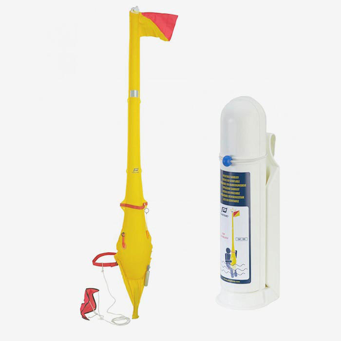 Plastimo Inflatable IOR Dan Buoy - White