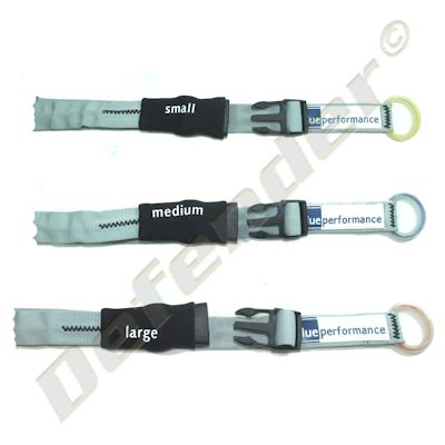 Blue Performance Sail Clips / Ties with Nylon Buckles