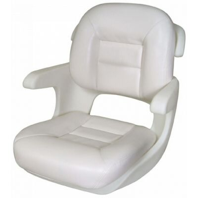 TEMP ELITE HELM SEAT WHT