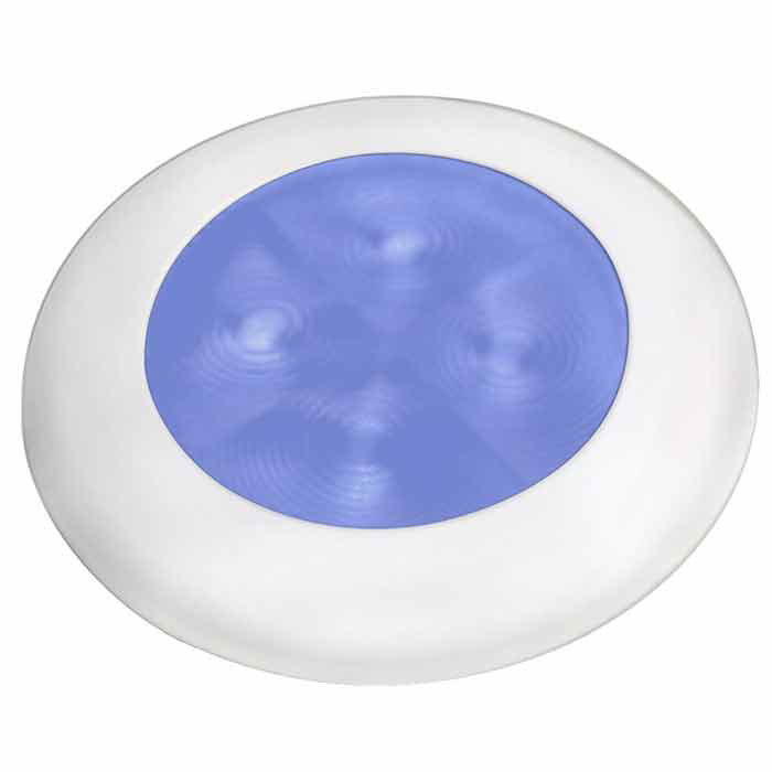 Hella Marine Round LED Courtesy Lamp - Exterior (980502241)