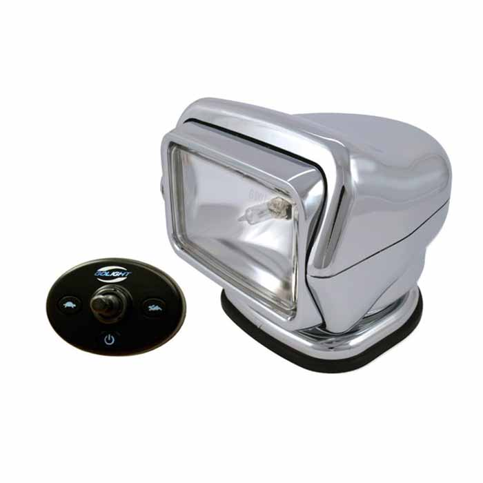 Golight Stryker Remote Control Halogen Searchlight - Chromed ASA Plastic