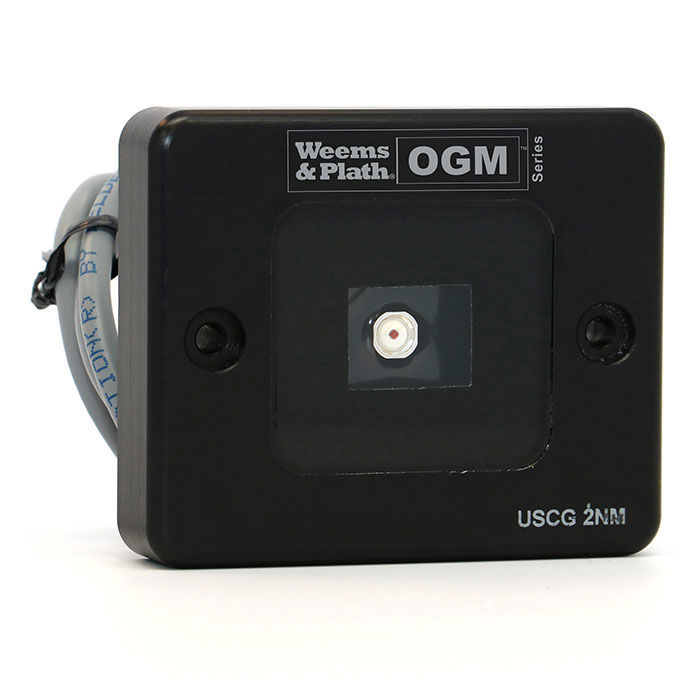 Weems & Plath OGM Series LED Starboard Nav Light with Mounting Bracket