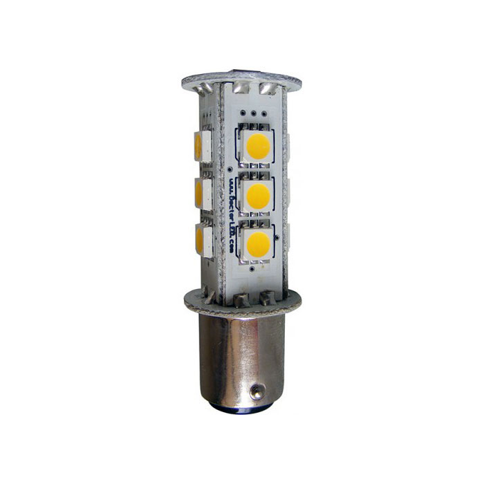 Dr. LED Tower LED Replacement Bulb - Single-Contact Bayonet Non-Indexed BA15S
