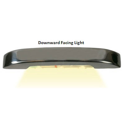 Sea-Dog Deluxe LED Courtesy Light - Large - Downward White