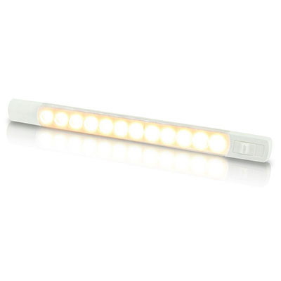 Hella Marine Surface Mount Strip Lamp with Switch - Interior / Exterior