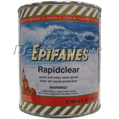 Epifanes Rapidcoat Wood Finish