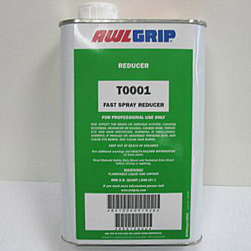 Awlgrip Fast Evaporating Topcoat Spray Reducer - Spray Applications