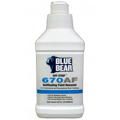 Franmar Blue Bear SOY Strip Marine Coating Remover