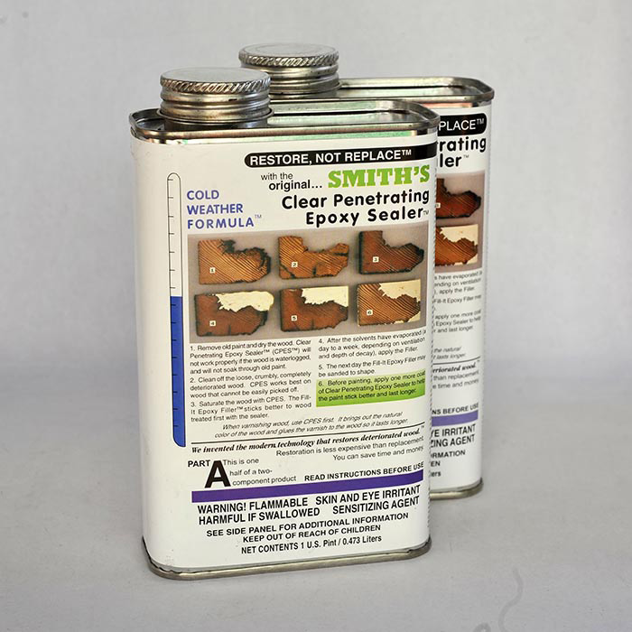 Smith's Original and Genuine (CPES) Clear Penetrating Epoxy Sealer