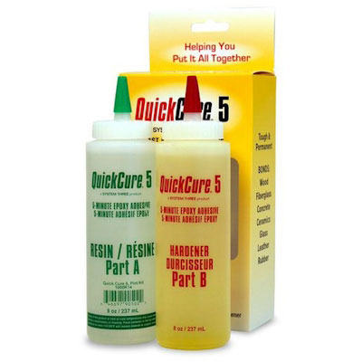 System Three Quick Cure-5 Quick Cure-5 Epoxy Adhesive