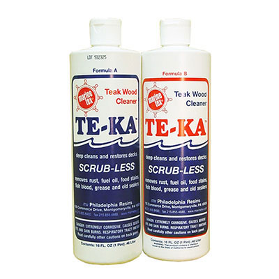 Travaco TE-KA 2-Part Teak Cleaner