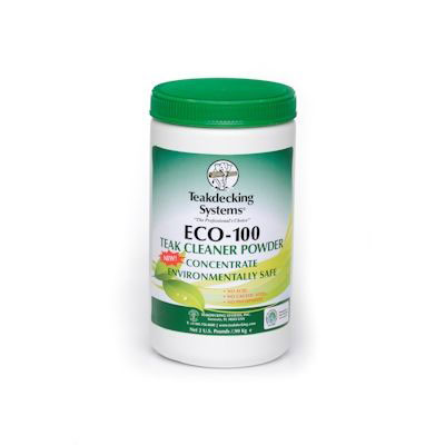 Teakdecking Systems ECO-100 Teak Cleaner Powder