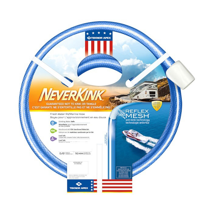 APEX NEVERKINK MARINE/ RV HOSE
