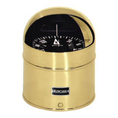 Ritchie Globemaster D-515-EX Compass - 24 Volt DC 2 Degree with Points (G-2-P)