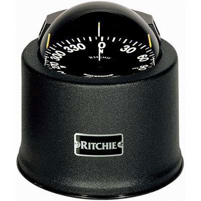 Ritchie Globemaster SP-5B Compass - 32 Volt DC 2 Degree with Points (G-2-P)