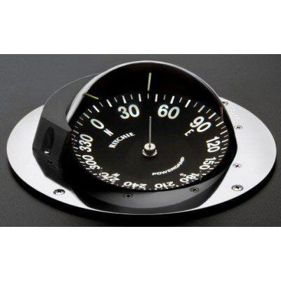 Ritchie Super Yacht SY-500LC Series Compass - 24V - 5 Deg - Green Light