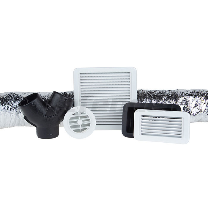 Webasto Plastic Air Duct Kit - FCF 5000 & 9000 Air Conditioners