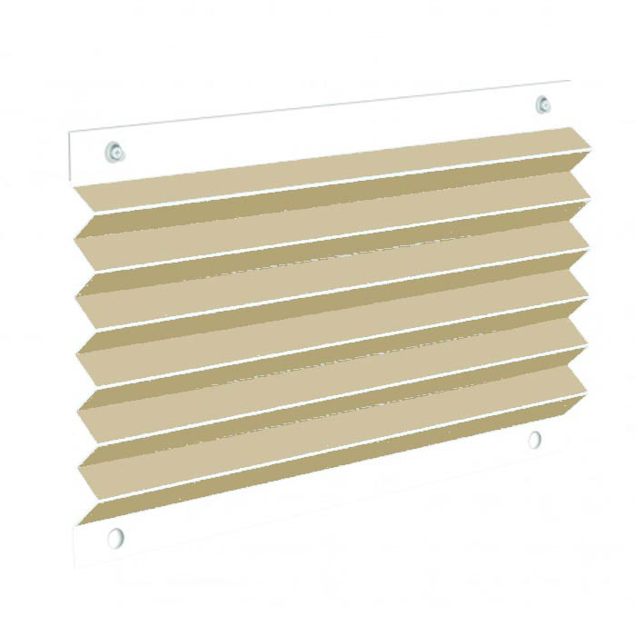OCEANair SKYSOL Pleated Shade - Beige - Size 3