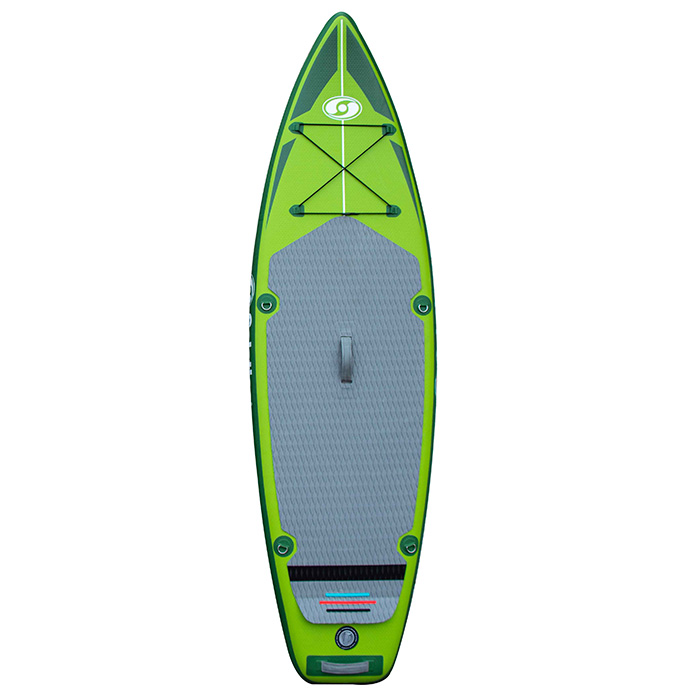 Solstice Inflatable Touring Paddleboard with Paddle (iSUP) - 9 Foot