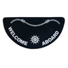 Taylor Made Welcome Aboard Mats - Half Round