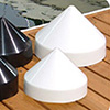 Taylor Made Piling Cap-White