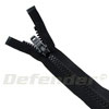 YKK 580 Heavy Duty Separating Zippers - Black / 72""