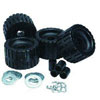 C.E. Smith Trailer Rubber Ribbed Wobble Rollers Kit