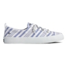 Sperry Women's Crest Vibe Beach Stripe Sneaker - Blue