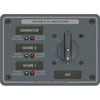 Blue Sea Systems AC Source Selection Rotary Switch Panel (8366)
