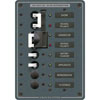 Blue Sea Systems AC Source Selection Toggle Circuit Breaker Panel (8467)