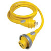 Furrion 30 Amp Heavy Duty Marine Cordset with Powersmart LED - 12 ft.