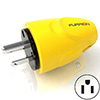 Furrion 15 Amp 125 Volt Straight Blade Male Plug