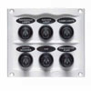 BEP 900 Compact Series 6 Way Spray Proof Switch Panel - Fused