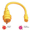 Marinco Pigtail 15 Amp Female to 30 Amp Male