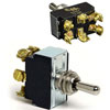 Cole Hersee Heavy Duty Toggle Switch with Momentary On (55054 BP)