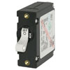 Blue Sea Systems A-Series Toggle Circuit Breaker - Single Pole - White