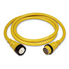 Marinco 50A Shore Power Cordset - 40 ft Yellow