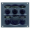 BEP 900 Compact Series 5-Way Spray Proof Switch Panel - Fused